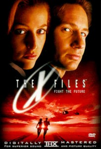 X Files Fight the Future DVD cover