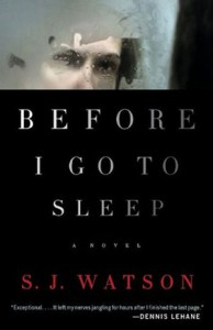 Cover of Before I Go to Sleep