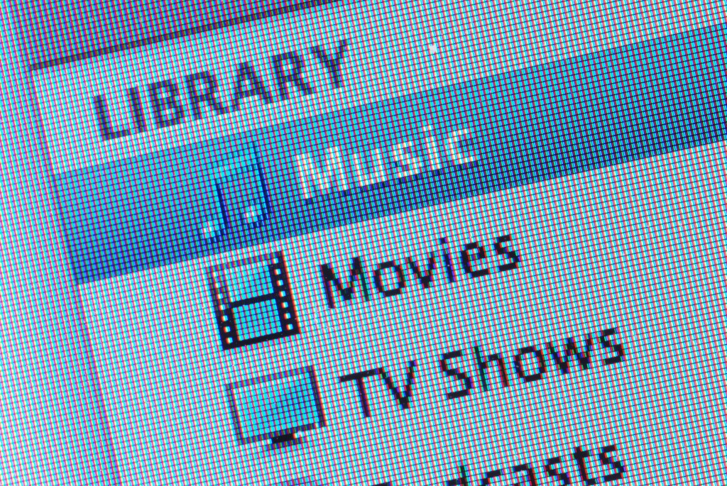 Itunes Library of Entertainment