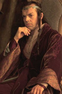 Elrond from Lord of the Rings