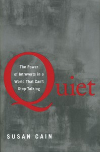 Cover of Quiet the power of introverts in a world that can't stop talking